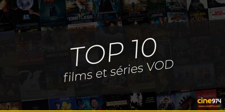 TOP 10 films et séries en VOD en France / semaine du 12 juillet 2021