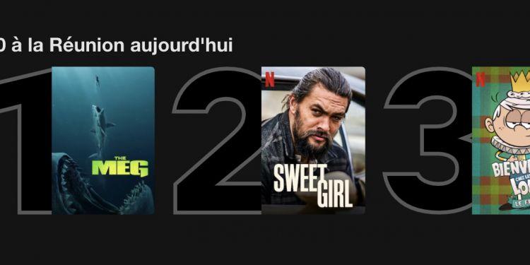 TOP Netflix du mardi 24 août 2021 à La Réunion