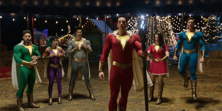 Une première photo de la team de Shazam 2.
