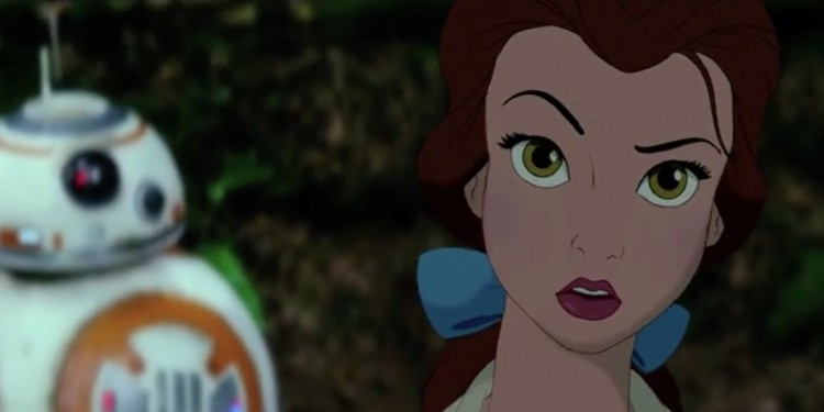 VIDEO : Mashup de Star Wars et Disney...