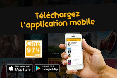 application mobile ciné la Réunion