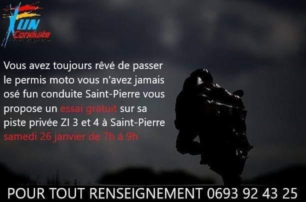Permis moto à La Réunion